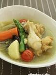 圧力鍋で5分!夏野菜のさっぱりスープカレー