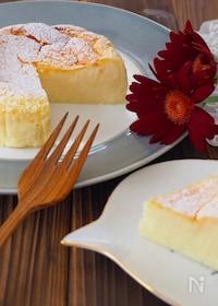『瞬溶け!生スフレチーズケーキ』