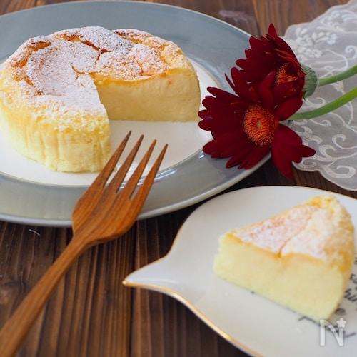 瞬溶け!生スフレチーズケーキ