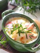 ホワイトソースなし!豆乳でポテトとベーコンのチーズグラタン
