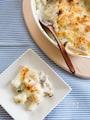 長芋とベーコンのグラタン