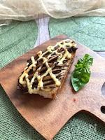 パンにのせてもおいしい~ごぼうのバルサミコ酢炒め