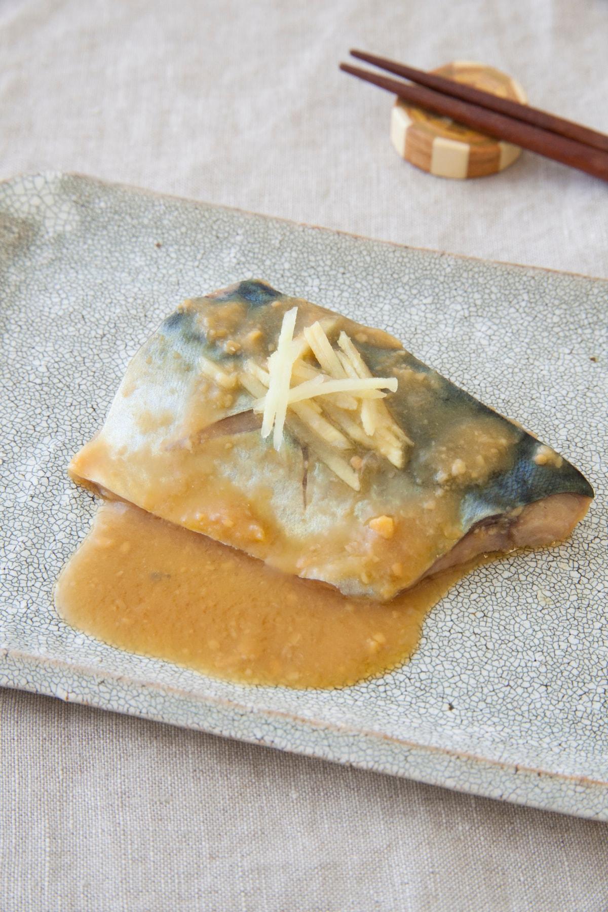 煮 鯖 レシピ 味噌