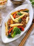『焼き野菜と牛肉のBBQ炒め』佐賀県産ホワイトアスパラ使用♡