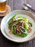 砂肝の銀皮と香味野菜のおつまみ