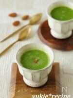 グリーンピースの和風スープ