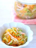 【作り置き】電子レンジで簡単!定番の春雨サラダの作り方レシピ