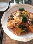 少ないお肉で大満足♡厚揚げとブロッコリーの中華ひき肉あんかけ