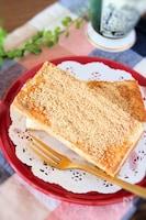 懐かしのあの味を再現、食パンできなこ揚げパン