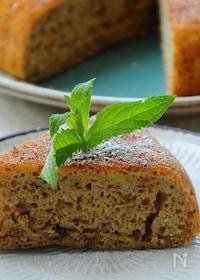 『炊飯器でバナナ紅茶ケーキ』