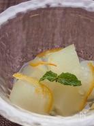 キレイの味方♪トロトロ冬瓜のママレード煮。