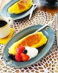 キチントさんdeフライパン仕立てのふわふわ柚子スフレケーキ