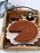クイック・タルト生地で、チョコチーズケーキタルト