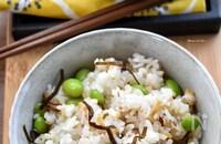 この旨味はたまらない♪おかわり必須♪枝豆と塩昆布の混ぜご飯♪