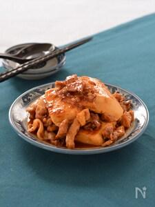 豚肉と豆腐のピリ辛炒め