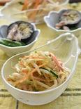 レンジで簡単♪モヤシの中華サラダ