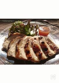 『〜薔薇ジャムと鶏むね肉の簡単ローストチキン〜』
