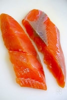 鮭の下処理 魚嫌いな人にも食べやすく