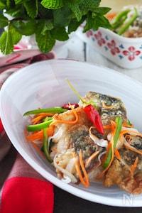 【お魚嫌いでもOK】たまねぎたっぷり鯖の南蛮漬け#作り置き