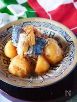 【簡単ヘルシー魚料理】*鯖缶シリーズ*カレー風味の鯖じゃが