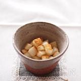 長芋のサイコロ焼き