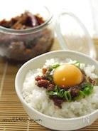 唐辛子味噌~しょうゆ麹~de~卵かけご飯