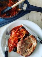 ⭐️豚ロースト トマトと玉ねぎのさっぱりソース