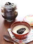 プルーンの紅茶煮・ヨーグルトのせ