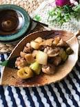 『柚子胡椒で♡』鶏と長ねぎの柚子胡椒炒め煮