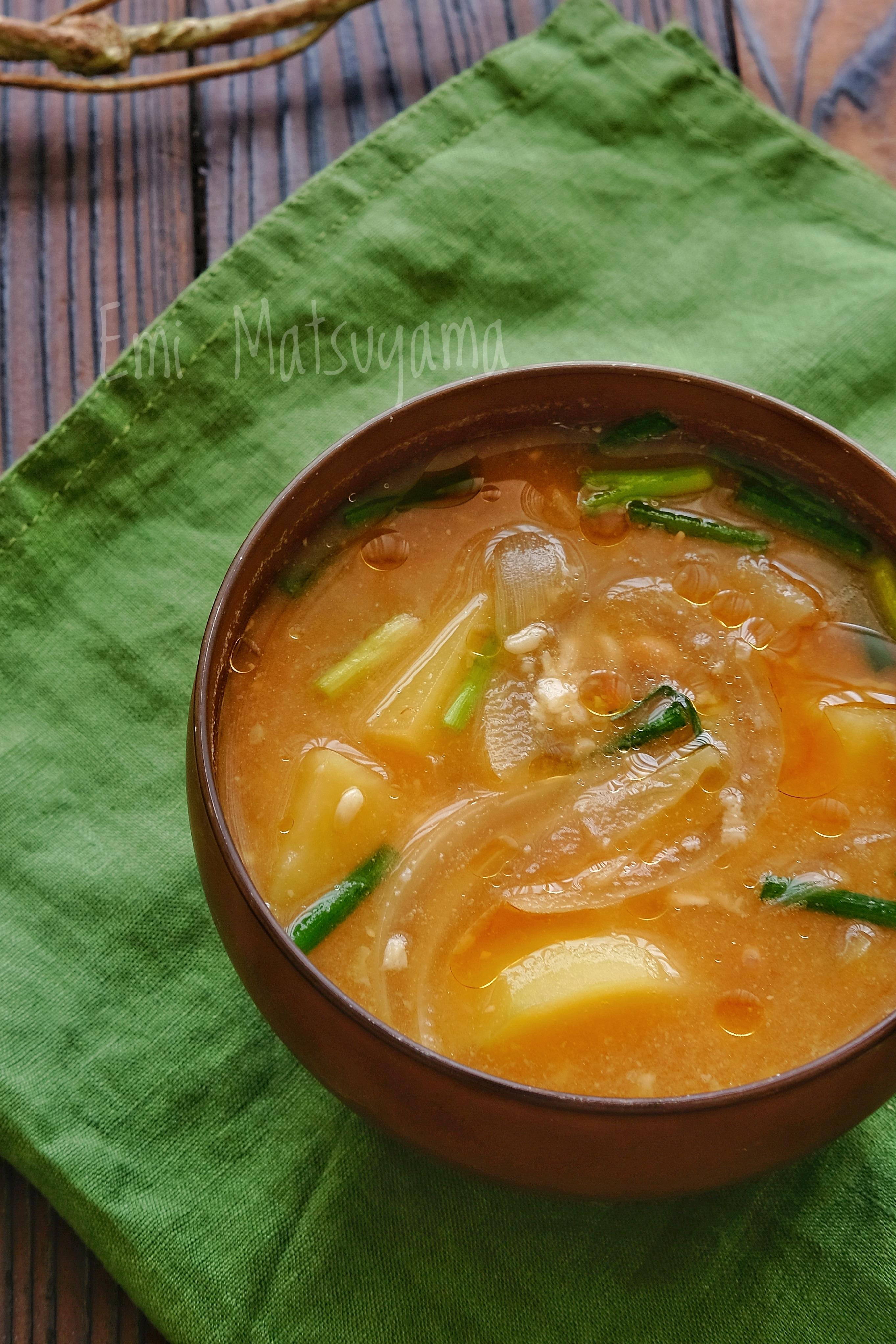 納豆味噌汁の基本レシピ&人気アレンジ7選。驚くほどにクセがない!の画像