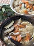 飲みすぎ食べすぎの胃に♡うどんスープで具沢山すいとん