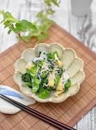 しらすと小松菜の和え物