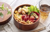 【マネしたい!定食弁当シリーズvol.12】楽して美味しい弁当を作りたい!子どもが喜ぶオムライス弁当
