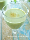 バニラ香るバナナグリーンスムージー
