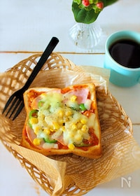 『冷凍ピザトーストの作り置きの方法』