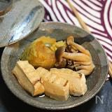 【基本の和食】白菜と豆腐の旨煮。