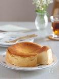 土台なしでもおいしいベイクドチーズケーキ(グルテンフリー)