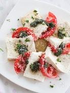 豆腐とトマトの夏サラダ