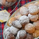 生地に砂糖不要♡板チョコの甘さで作る♡スノーボール♡