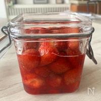 ⭐️香りの良い綺麗なイチゴシロップ