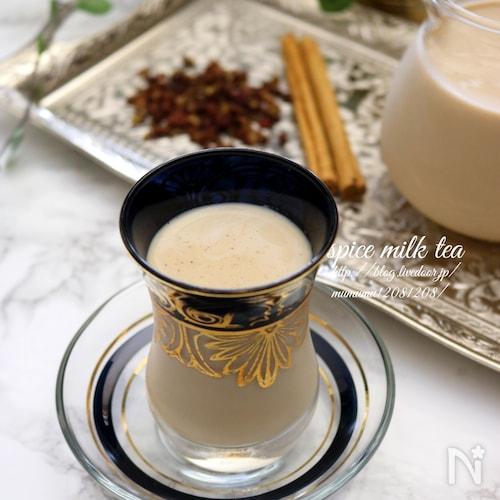 花椒香る、スパイシーミルクほうじ茶。