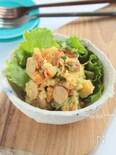 カレーごま味のジャーマンポテトサラダ§マヨネーズ不使用