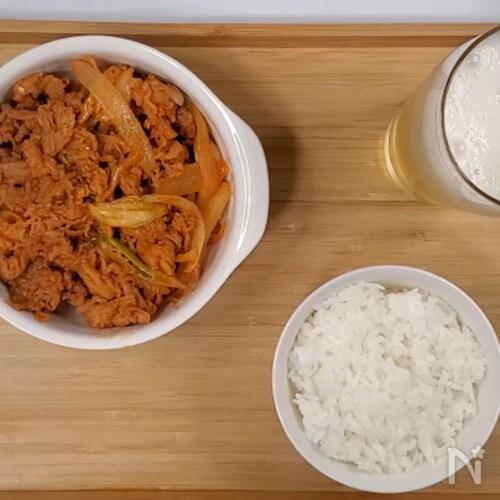 簡単に作る[豚キムチ作り方]韓国料理レシピ
