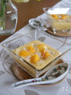 冷凍マンゴーで簡単!楊枝甘露(ヨンジ―ガムロ)
