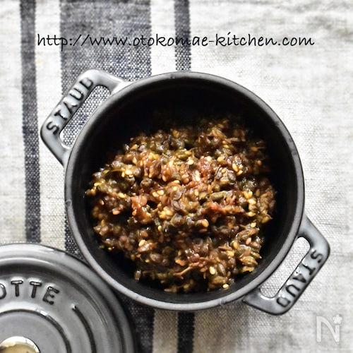 【常備菜】山椒(実山椒)の胡麻味噌佃煮