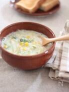 しょうがみそ仕立て♪とろとろ白菜の豆乳スープ