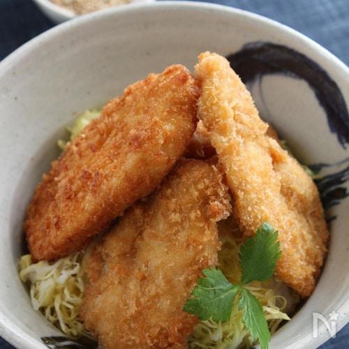 鶏むね肉で新潟名物タレカツ丼