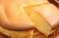 糖質オフ!半熟スフレチーズケーキ 小麦粉不要