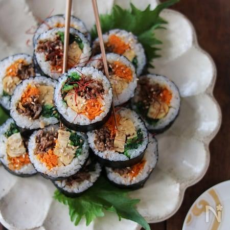 海苔 巻き レシピ