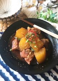 『【圧力鍋使用】韓国風♡ピリ辛 豚の角煮』